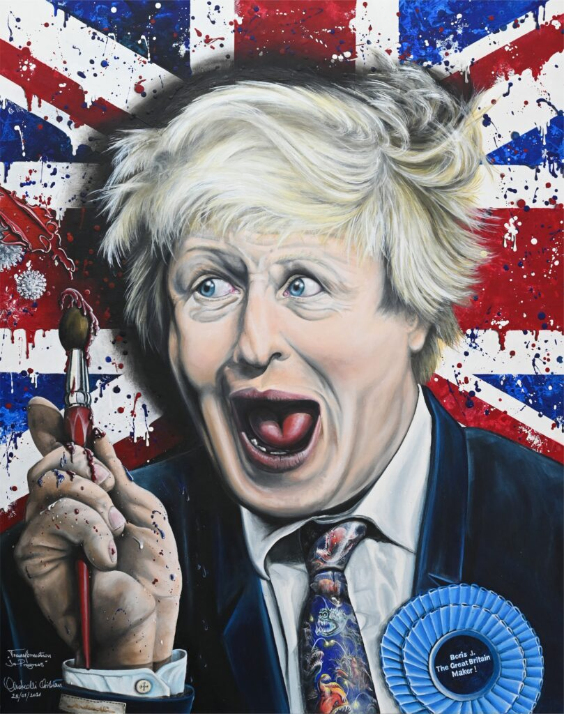 Boris J. The Great Britain Maker, 2021.